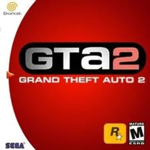 GTA 2 - Dreamcast Game