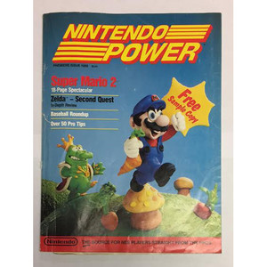 Nintendo Power - Issue #1 July/August 1988 Discounted