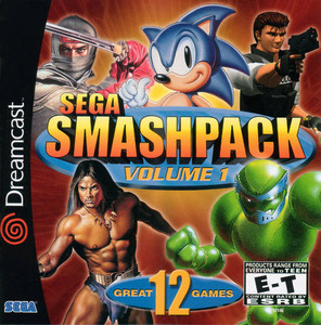 Sega Smashpack Volume 1 - Dreamcast Game