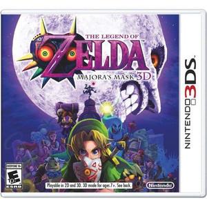 The Legend of Zelda Majora's Mask 3D Nintendo 3DS Game   DKOldies