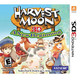 Harvest Moon 3D: A New Beginning - 3DS Game