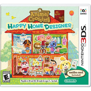 Animal Crossing Happy Home Designer - 3DS Game