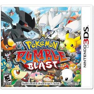Pokemon Rumble Blast - 3DS Game
