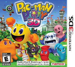 Pac-Man Party 3D - 3DS Game