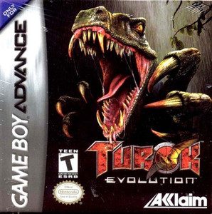 Turok Evolution - Game Boy Advance Game