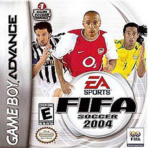 Complete Fifa Soccer 2004 - Game Boy Advance Game