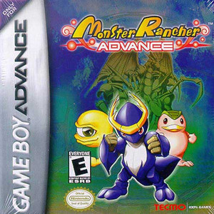 Monster Rancher Advance - Game Boy Advance Game