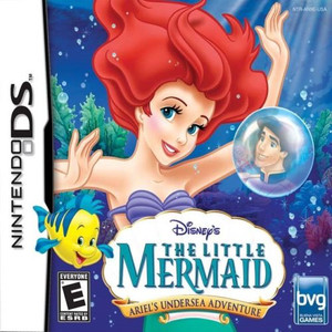 Little Mermaid Ariel's Undersea Adventure, Disney - DS Game