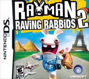 Rayman Raving Rabbids 2 - DS Game