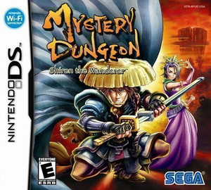 Mystery Dungeon Shiren the Wanderer - DS Game