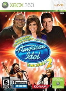 Karaoke Revolution American Idol Encore 2 - Xbox 360 Game