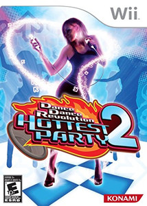Dance Dance Revolution Hottest Party 2 - Wii Game