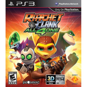 Ratchet & Clank All 4 One - PS3 Game