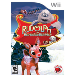 Rudolph The Red-Nosed Reindeer - Wii Game
