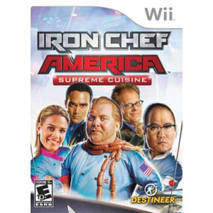 Iron Chef America Supreme Cuisine - Wii Game