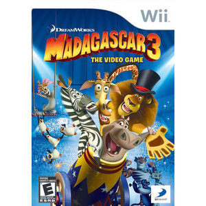 Madagascar 3 - Wii Game