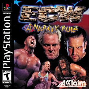 ECW Anarchy Rulz - PS1 Game