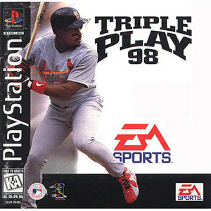 Triple Play Baseball 98 - PS1 Game