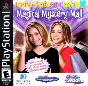 Complete Mary-Kate and Ashley: Magical Mystery Mall - PS1 Game
