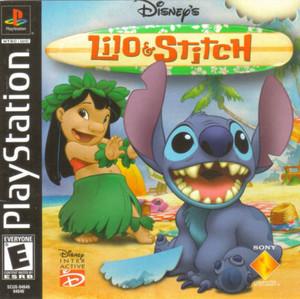 Complete Lilo & Stitch - PS1 Game