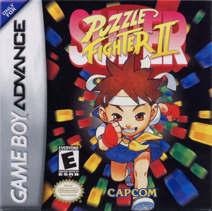 Puzzle Fighter II - Game Boy Advance Game