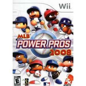 MLB Power Pros 2008 - Wii Game