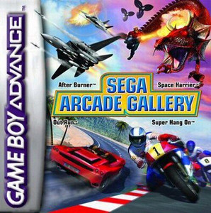 Sega Arcade Gallery - Game Boy Advance Game