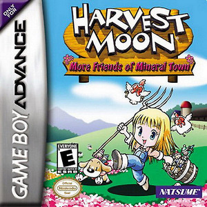 Harvest Moon More Friends of Mineral Town- Game Boy Advance Game