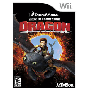How to Train Your Dragon - Wii Game