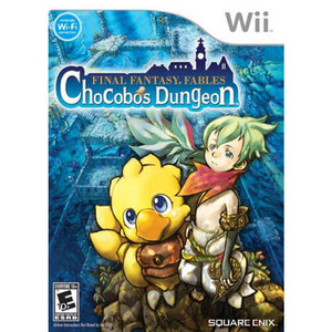 Final Fantasy Fables Chocobos Dungeon - Wii Game