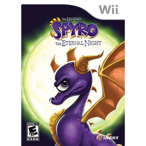 Legend of Spyro The Eternal Night - Wii Game