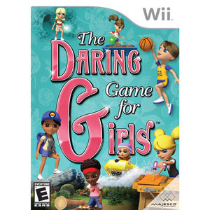 The Daring Game For Girls - Wii Game