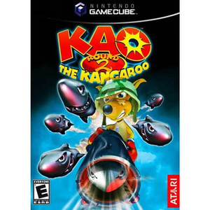 KAO The Kangaroo Round 2 - Gamecube Game