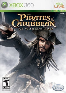 Pirates of the Caribbean At Worlds End, Disney - Xbox 360 Game