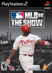 MLB 08: The Show - PS2 Game
