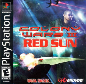 Complete Colony Wars III Red Sun - PS1 Game