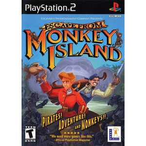 Escape From Monkey Island - PS2 Game