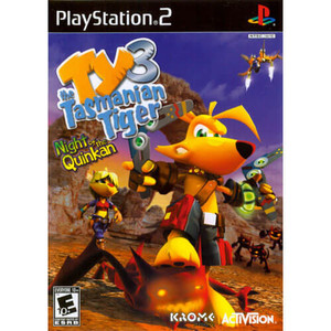 Ty the Tasmanian Tiger 3 Night of the Quinkan - PS2 Game