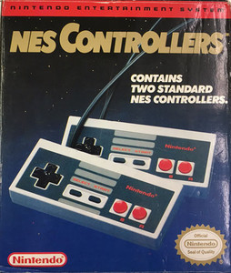 Complete NES Controllers Two Pack - Nintendo NES