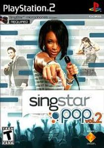 Singstar Pop vol 2 - PS2 Game