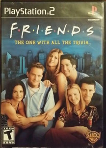 Friends The One With All The Trivia - PS2 Game