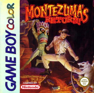 Montezuma's Return - Game Boy Game Color