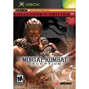 Mortal Kombat Deception Collectors Edition Baraka - Xbox Game