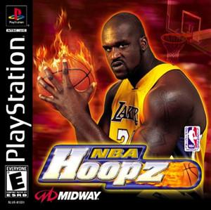 NBA Hoopz - PS1 Game