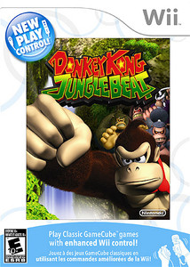 Donkey Kong Jungle Beat - Wii Game