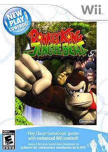 Donkey Kong Jungle Beat - Wii Game