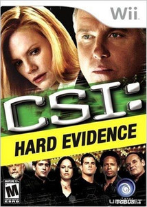 CSI: Hard Evidence - Wii Game