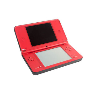 Nintendo DSi XL Red 25th Anniversary Handheld System w/ Charger