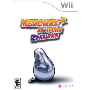 Mercury Meltdown Revolution - Wii Game