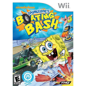 Nickelodeon Spongebob's Boating Bash - Wii Game